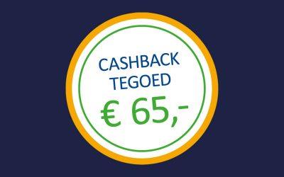 Cashback actie energiebesparende maatregelen – Dubbel besparen