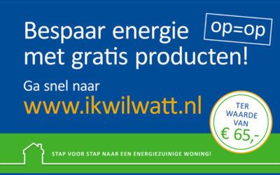 Gratis energiebesparing. Doe je aankopen online lokaal!