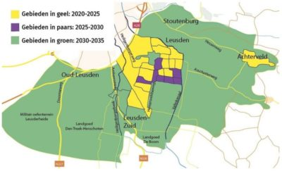 Wijkwarmteplannen voor een aardgasvrij Leusden